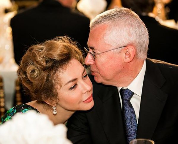 Божена Рынска и Игорь Малашенко, фото:ppr19.ru