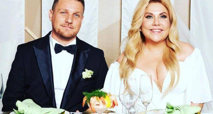 Марина Федункив с мужем. Фото Инстаграм