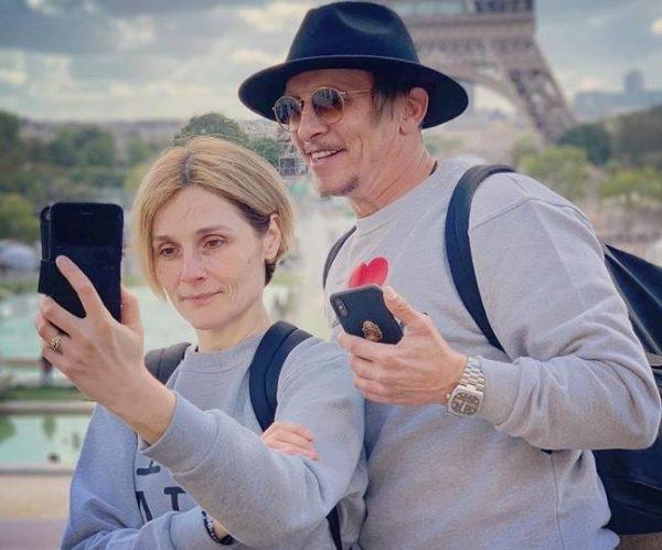 Иван Охлобыстин и его жена. Фото Инстаграм
