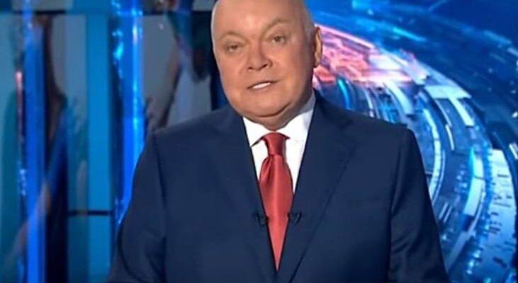 "Дмитрий Киселёв. Фото Фото: скриншот из видео YouTube-канала ""Вести 24"""