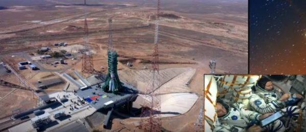 Ракета перед стартом. Фото Первый