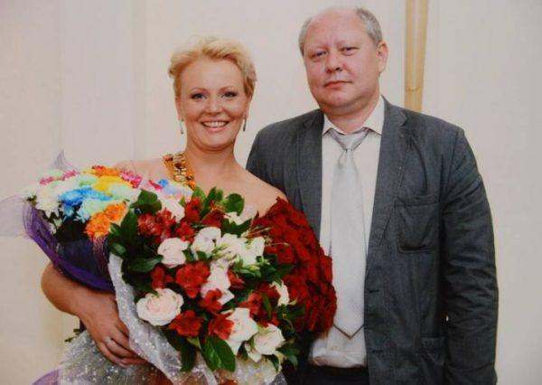 Константин Глушко со второй супругой Галиной. Фото СтарХит