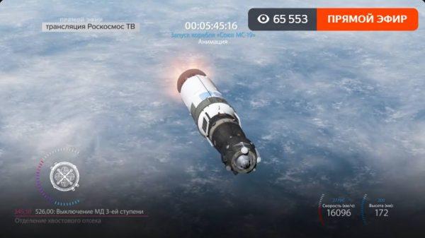 На старт! Опять мы первые в мире: российская команда с Юлией Пересильд улетела в космос
