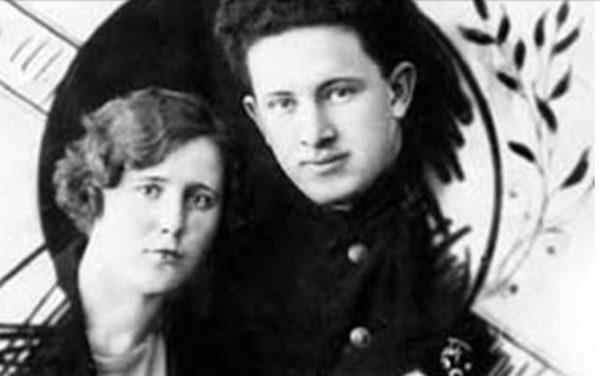 Юрий Андропов с первой женой Ниной Енгалычевой. Фото russian7.ru