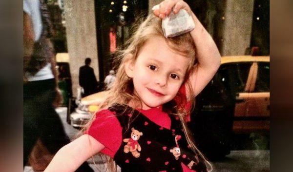 Лиза Арзамасова в детстве. Фото Инстаграм