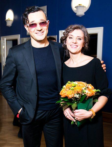 Егор Бероев и Ксения Алфёрова